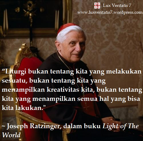Joseph Ratzinger Quote