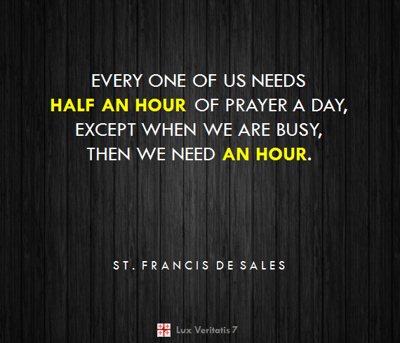 Quote Francis de Sales