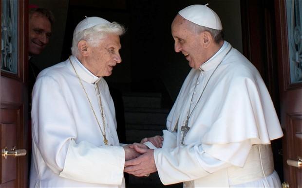Papa Ben and Francis