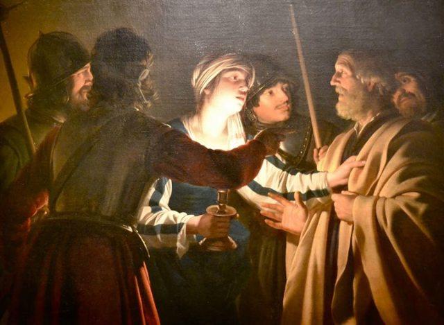 Denial of St Peter Gerit Van Honthorst
