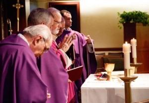 Warna liturgis ungu