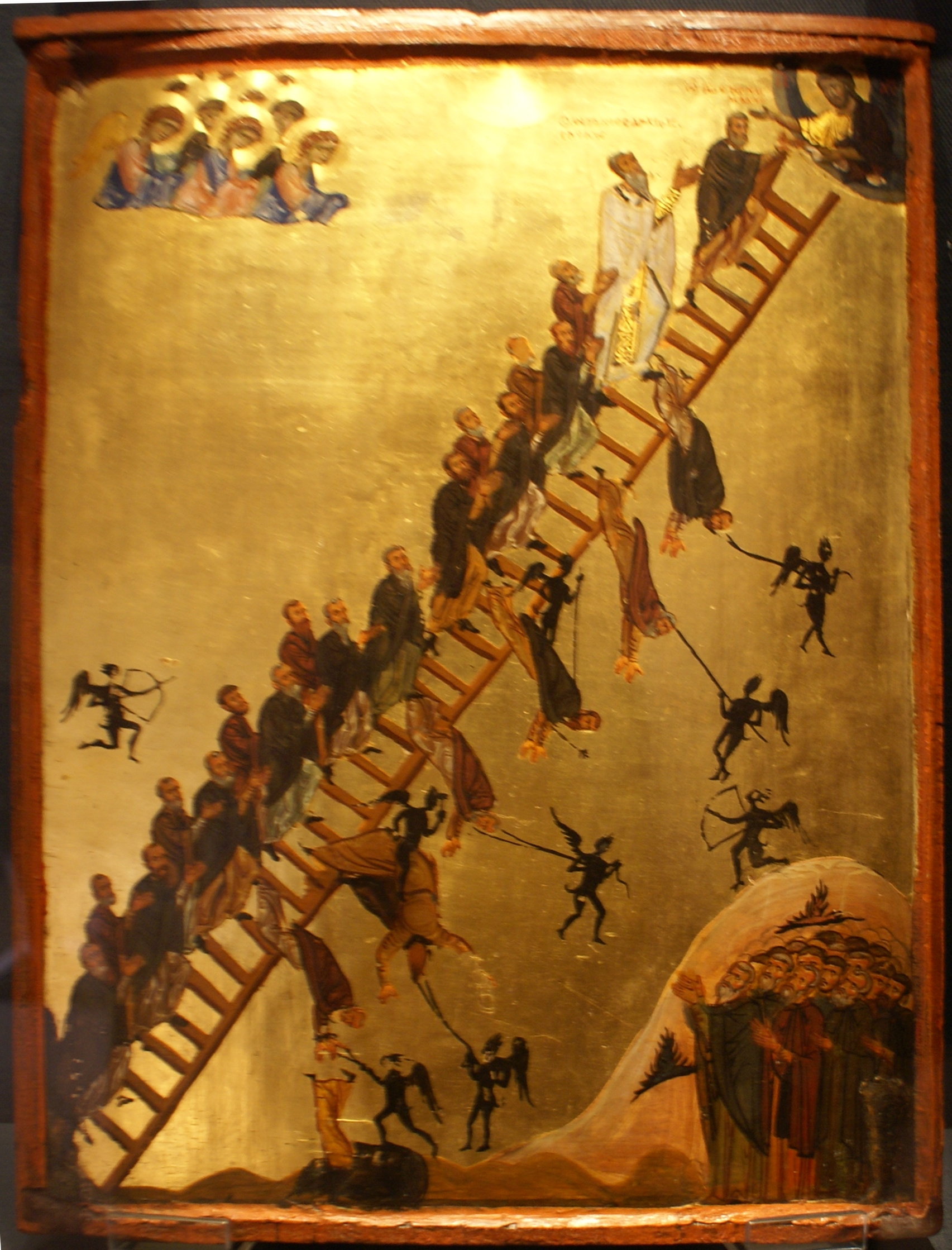 "Icon ""The Ladder of Divine Ascent"""