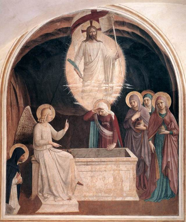 """Resurrection of Christ and The Women"", Fra Angelico OP."