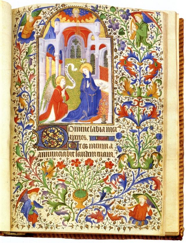 Miniature Annunciation