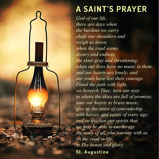 A Saint's Prayer
