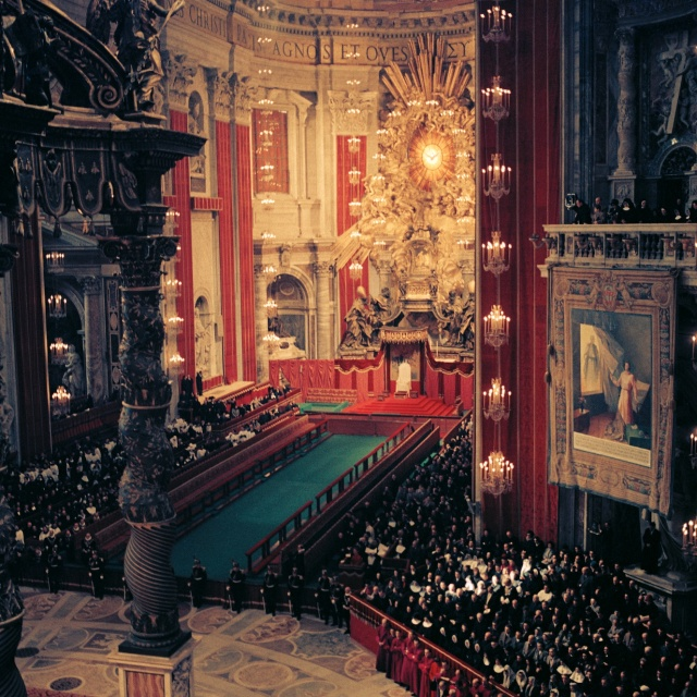 Second_Vatican_Council_by_Lothar_Wolleh_005