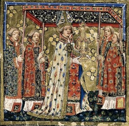 Corpus Christi Procession Medieval