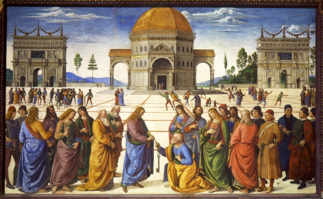 Christ Giving Keys to Peter